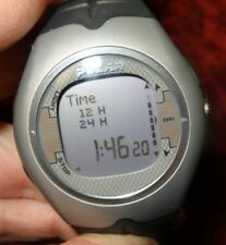 MEN'S F7 POLAR GRAY DIGITAL WATCH W/ LIGHT, TIME, DAY DATE, EXERCISE, SETTINGS