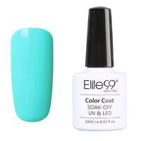 Elite99 UV LED Gel Soakoff Vernis à Ongles Multicolore Nude Semi Permanent
