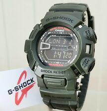 Casio G Shock Mudman Reloj G-9000 Verde Militar Hora Mundial choque resistir (C45