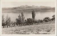RPPC Postcard Mono Lake and Craters Mono County CA