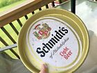 Vintage Schmidt's Light Beer metal serving tray