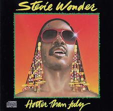 STEVIE WONDER : HOTTER THAN JULY / CD - NEU
