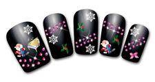 Nailart stickers autocollants ongles scrapbooking décorations de Noël flocons