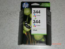 Druckerpatronen Doppelpack HP 344 tri-colour (Bezeichnung C9505EE); MHD 12/2018