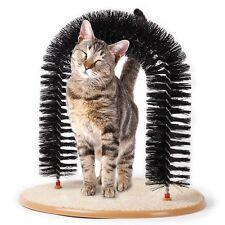 Cat/Kitten Arch (Claw Scratcher, Groomer, Massager) Catnip, Toy, Pet, Bristles