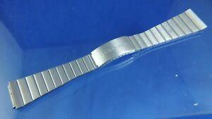 Vintage Certina Watch Bracelet - NOS - Circa 1970s , Mint , 19.5mm St Steel
