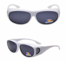 New ANTI GLARE POLARIZED Eyewear Oval Sunglasses Cover Fit RX Glasses Goggles