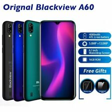 """Blackview A60 3G Smartphone 6.1"""" Android 8.1 Dual Sim 1Gb+16Gb 13Mp+5Mp Phone"""