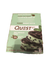 Quest Nutrition Protein Bar Mint Chocolate Chunk 25.44oz 12 Pieces