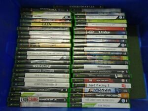 XBOX Original Job lot of 49 Games, Most with manuals, mostly VG disk condition