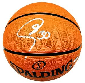 Stephen Curry Golden State Warriors Hand Signed Autographed NBA Basketball COA