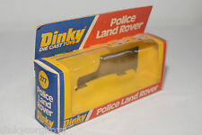 DINKY TOYS 277 POLICE LAND ROVER ORIGINAL EMPTY BOX EXCELLENT CONDITION