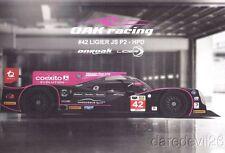 2014 Oak Racing Honda HPD Ligier JS P2 COTA IMSA TUSC postcard