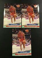 1992-1993 Fleer Ultra # 186 PERVIS ELLISON Lot 3 Washington Bullets 20 PPG 177 B