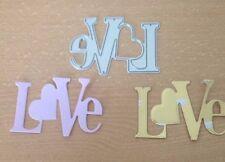 Love Die Cut Stencil METAL DIE carte fatte a mano rottami di prenotazione