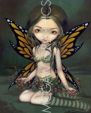 FANTASY ART PRINT Fairy with Dried Flowers Jasmine Becket-Griffith