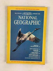 February 1981 NationalGeographic Magazine Where Oil and Wildlife Mix StrangeRide