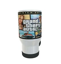 gta game travel thermo mug fun gift 14oz