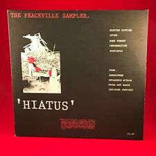 VARIOUS Hiatus The Peaceville Sampler VINYL LP EXCELLENT PUNK COMPILATION