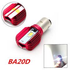 BA20D 3LED COB Motorcycle H6 Headlight Bulb 16W High Low Light Lamp Universal 1x