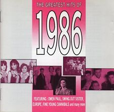 The Greatest Hits Of 1986 - Various Artists (CD 1992) Original CD