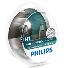2X DUO Philips X-tremeVision H1 bis zu 130% mehr Licht Halogenlampe 12258XV+S2