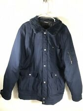 Brixton Quilted Snap/Zip Front Cotton Pocketed Winter Jacket Coat Men's XL