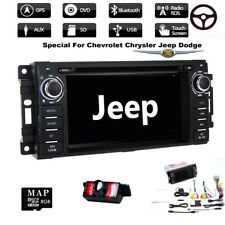 """6.2"""" Car In Dash Player GPS Stereo Radio For Jeep Grand /Cherokee/Dodge Ram+Cam"""