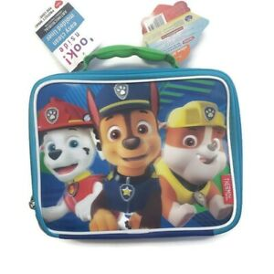 Paw Patrol Flex A Guard Liner Thermos Soft Lunch Bag Blue Green New
