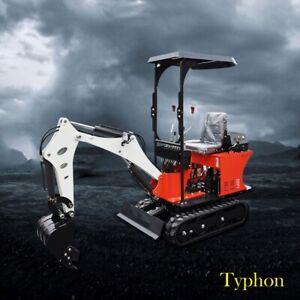 Brand New Typhon Terror VIII 800kg Mini Excavator Digger Bagger Tracked Crawler