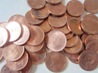 Roll of 1967 Canada Small Cents (UNC RED 50 Coins) (RJ139)