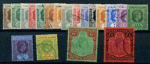 Leeward Islands 1938 fine used set cat £140