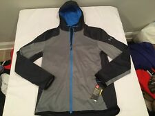 NWT $84.99 Under Armour Mens CG Reactor Fleece Hoodie Stealth Gray / Gray XXL