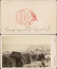 Godfray, Jersey, Royal Bay of Grouville Vintage CDV albumen carte de visite
