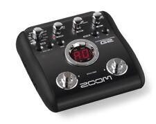 Zoom G2 Guitarra Multi Efectos Pedal Procesador & fuente de alimentación
