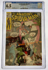 Amazing Spider-Man #91 CGC 6.5 OW pages Marvel Comics 1970 Funeral of Capt Stacy