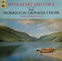 Morriston Orpheus Choir-With Heart And Voice Vinyl LP.1967 Columbia SCX 6128.