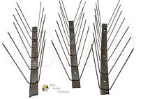 BIRD PIGEON SPIKES STAINLESS STEEL REPELLENT PEST COYOTES BOB CATS 3ft. 0400103