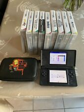 black nintendo ds lite With Games