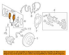 NISSAN OEM Brake-Front Pads D10601NC0C