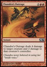 MTG 4x CHANDRA's OUTRAGE - SDEGNO DI CHANDRA - M14 - MAGIC
