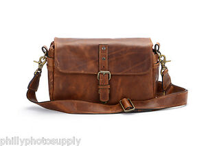 ONA The Bowery Leather (Antique Cognac) Camera Handcrafted Premium Leather Bag