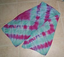 "habotai silk scarf. Hand dyed  14"" x 56"" washable silk (208CL144FC2)"