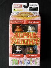 Marvel Minimates - Alpha Flight 4-pack - New York Comic Con - AFX Exclusive