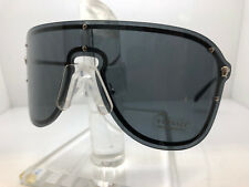 Authentic VERSACE SUNGLASSES VE2180 100087 SILVER/GREY LENS