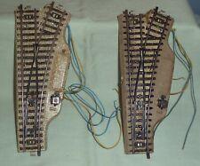 Marklin 5204 Right Electric Turnouts (2) HO