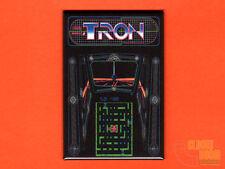 "Tron marquee/bezel  2x3"" fridge/locker magnet arcade Bally Midway Disney"