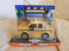 1997 The Chevron Cars Yellow Tyler Taxi Car Vehicle Brand New Whimsical Funny