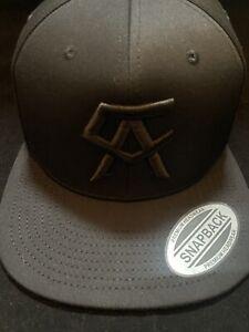 Canelo Alvarez Hat black on black  BOXING CHAMPION SNAPBack New Rare
