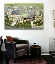 Notre Dame Football Stadium Canvas print  36 x 24 Panoramic Fighting Irish